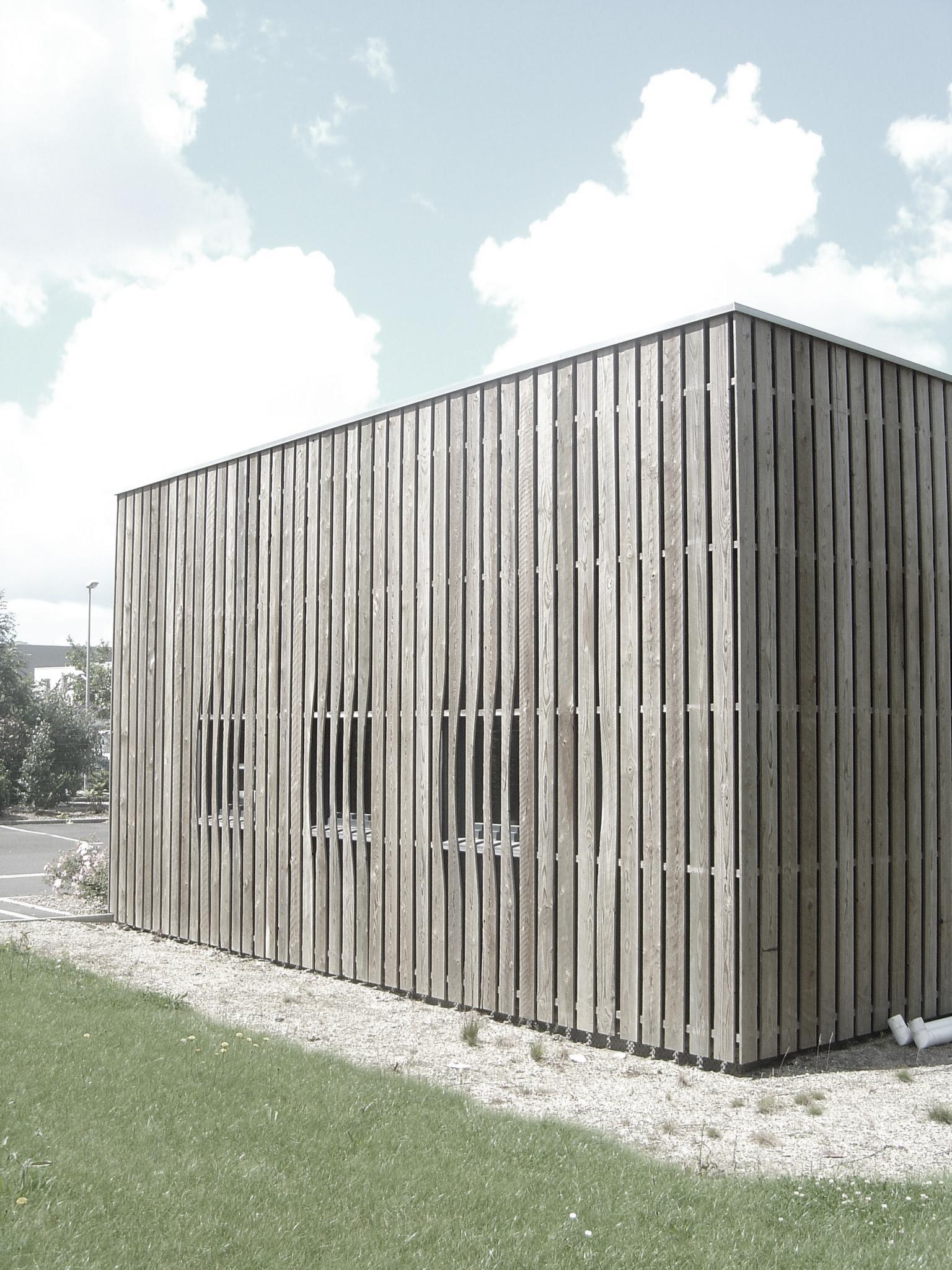 Architectes nantes realisation atelier espace verts for Espace vert nantes